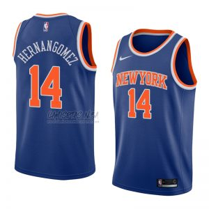 Camiseta New York Knicks Willy Hernangomez NO 14 Icon 2018 Azul